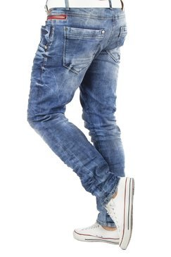 Jeans CD394-BLUE CIPO BAXX