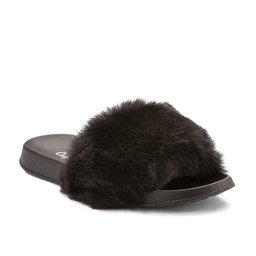 Pantofle COQUI FURRY Black