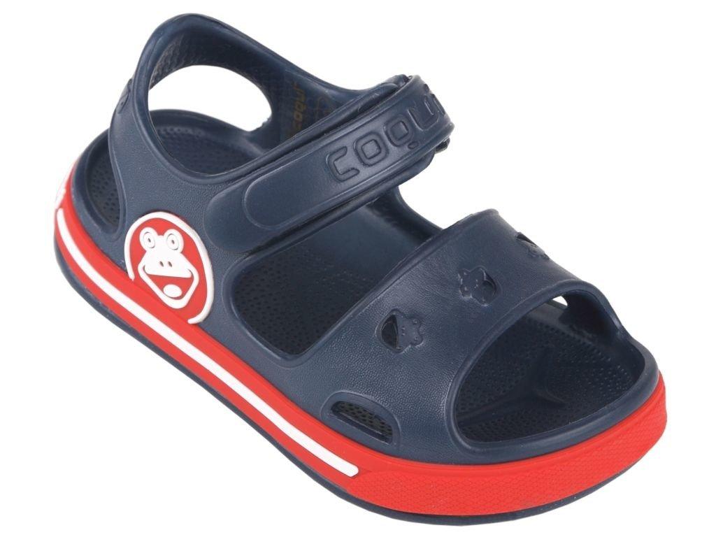 2924cb604e75a Sandály COQUI FOBEE NAVY RED | Dětské boty \ Dívka | Ipanema klapki ...